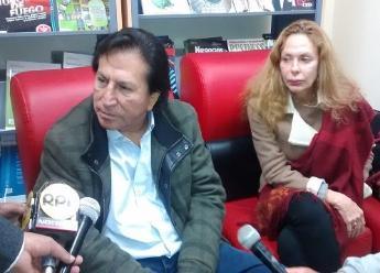Toledo visita Cajamarca y propone construir tren que vaya de Tacna a Tumbes