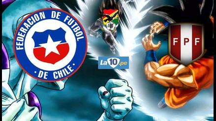 Perú vs. Chile: Dragon Ball Z presente en los memes del Clásico del Pacífico