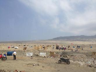 La Libertad: desalojan a invasores de terrenos del proyecto Chavimochic