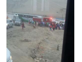 Lurín: varios heridos deja choque entre bus interprovincial y camión