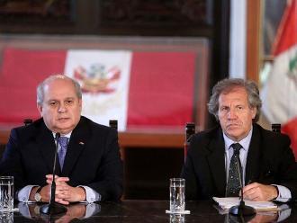 Gobierno ratifica apoyo permanente a nuevo secretario general de la OEA
