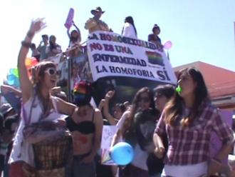 Colectivo marchó por primera vez en el Cusco en el Día del Orgullo Gay