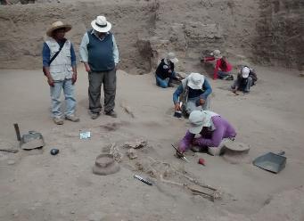 Ubican talleres de orfebrería y 14 tumbas mochicas en Lambayeque