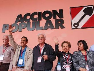 Acción Popular señala que cuenta con cinco precandidatos presidenciales