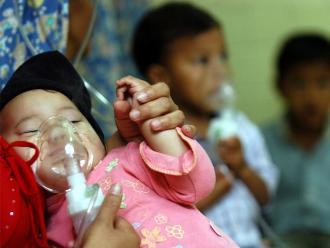 Lima: niños tienen hasta 10 episodios de infecciones respiratorias al año