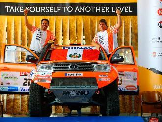 Raúl 'Mono' Orlandini fue el líder y se llevó la victoria del Baja Italia 2015