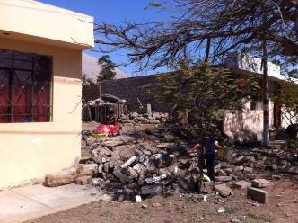 Arequipa: tres casas de adobe se cayeron tras fuerte sismo en Chala