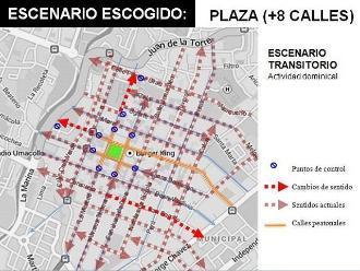 Cierran Plaza de Armas de Arequipa por peatonalización