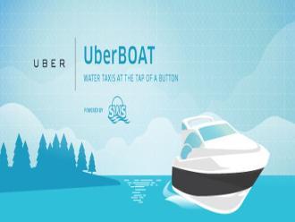 Uber ahora también ofrece transporte marítimo con UberBOAT