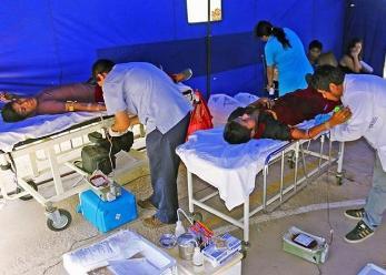 Estudiantes donaron 37 unidades de sangre a Hospital de Lambayeque