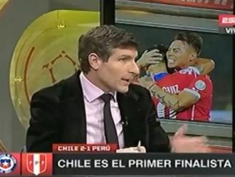 Copa América: Martín Palermo y sus fuerte críticas contra el juez del Perú - Chile