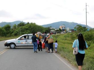Moyobamba: continúa interrumpido el tránsito en la carretera Belaunde Terry