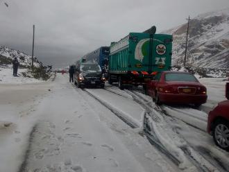 Previsiones ante nevadas en sierra central y sur del país