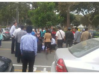 WhatsApp: denuncian que hombre atropellado no recibe atención inmediata en San Isidro