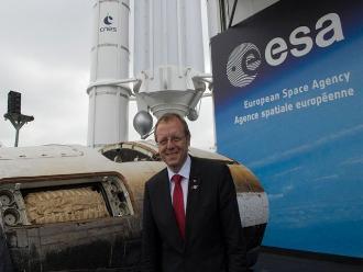 Johann Dietrich Woerner asume el mando de la Agencia Espacial Europea