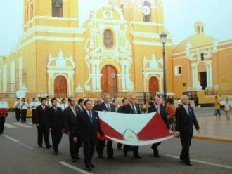 Trujillo y la primera bandera del Perú en libertad