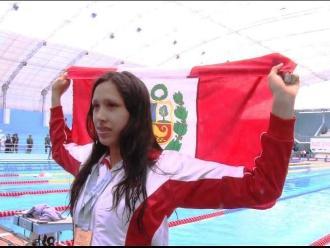Trujillo: nadadora Andrea Cedrón rompe récord de 200 metros libre