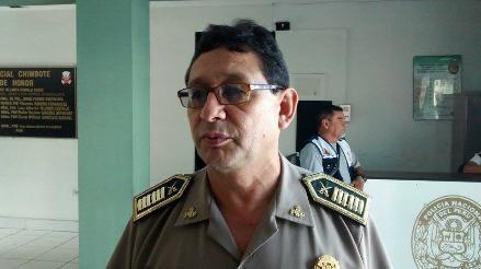Áncash: René Rodríguez es el nuevo jefe de la región policial