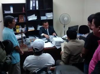 Caso Tumán: juez Tenorio se reunió con trabajadores en huelga