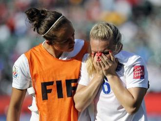 Inglaterra se fue del Mundial Femenino tras doloroso gol en contra
