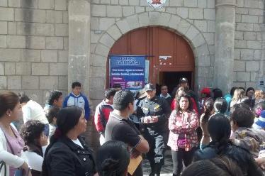 Cajamarca: padres de familia de San Ramón exigen la devolución de ambientes