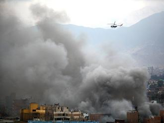 Estar expuesto al humo y gases tóxicos genera enfermedades respiratorias