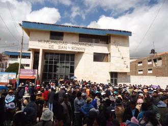Puno: cesan a gerente de servicios públicos de San Román