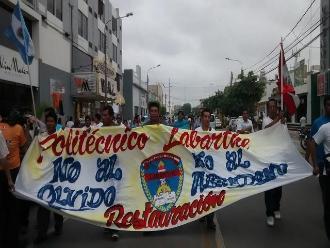Chiclayo: exalumnos del colegio Labarthe preparan segunda movilización