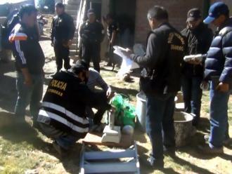 Puno: incautan 21 paquetes alcaloide de cocaína en Copani