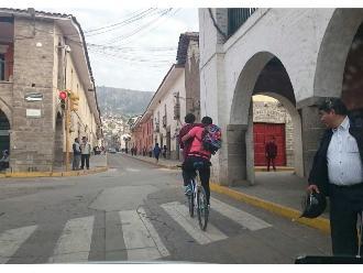 WhatsApp: escolar es transportado temerariamente en Ayacucho