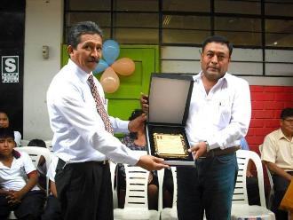 Lambayeque: colegio San Juan reconoce apoyo de municipalidad de Íllimo