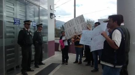 Cajamarca: comerciantes mayoristas protestan contra la Sunat