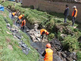 Trujillo: inician trabajos de descolmatación del río Moche