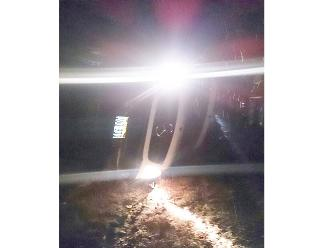 Puno: auto se vuelca por nevadas en la ruta hacia Arequipa