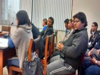 Arequipa: dictan nueve meses de prisión preventiva a intervenidos por reglaje