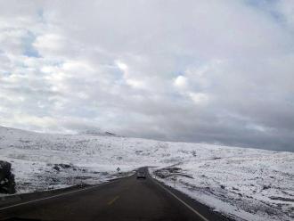 Intensa nevada azota zonas altoandinas de Andahuaylas y Chincheros