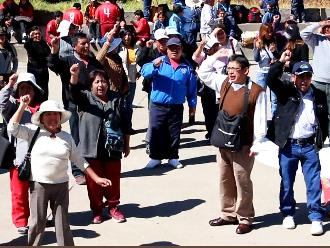 Trujillo: docentes afiliados al Sutep reclama por deuda