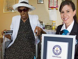 EEUU: La persona más anciana del mundo cumple 116 años