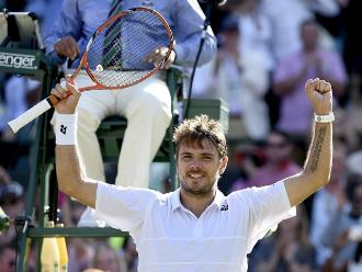 Wimbledon: Wawrinka sella su pase a octavos