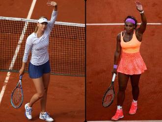 Wimbledon: Sharapova-Serena y Muguruza-Radwanska, las semifinales femeninas