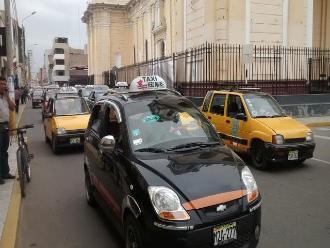 Dirigente de taxis de Chiclayo:
