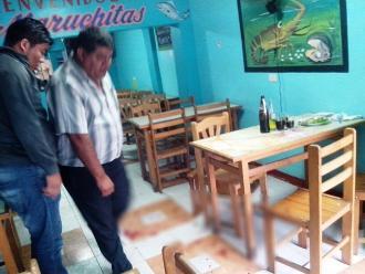 Chimbote: sicarios disparan y dejan grave a comerciante de pollos