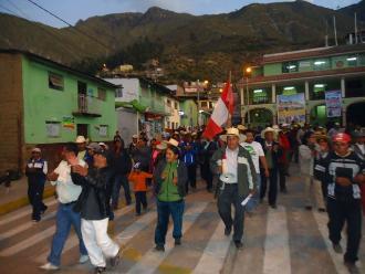 Oxapampa: cocaleros se movilizan en contra de la erradicación de hoja de coca