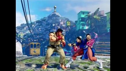 Street Fighter V: presentan nuevo escenario ambientado en Brasil