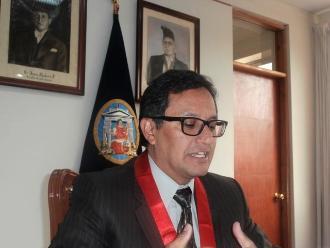 Huancavelica: juez amenaza a presidente de la Corte Superior