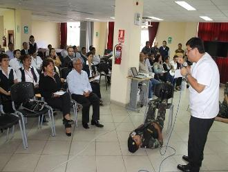 Chiclayo: trabajadores del Poder Judicial se capacitan para emergencias