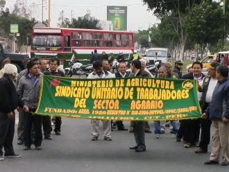 Ica: trabajadores públicos acatan paro de 48 horas contra Ley Servir