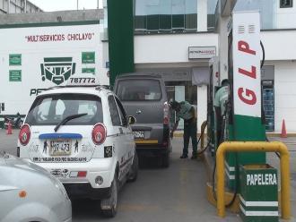 El 43% de gasocentros bajó el precio del GLP vehicular a menos de S/.1.50