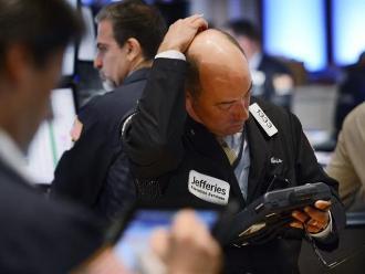 Wall Street cerró con fuertes pérdidas en una sesión de pesadilla