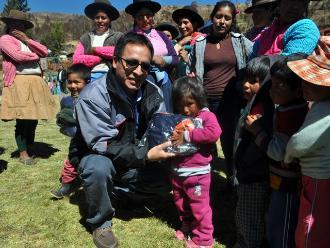 Descenso de temperaturas en Andahuaylas y Chincheros alarma a pobladores